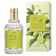 Одеколон `4711 ACQUA COLONIA` REFRESHING- LIME & NUTMEG (жен.) 50 мл