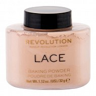Пудра рассыпчатая для лица `REVOLUTION` LUXURY BAKING POWDER тон lace