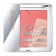 Румяна `CATRICE` LIGHT AND SHADOW CONTOURING BLUSH тон 020 коралловый
