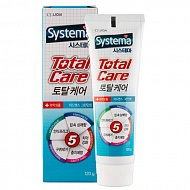 Паста зубная `LION` SYSTEMA Total care (green mint) 120 г