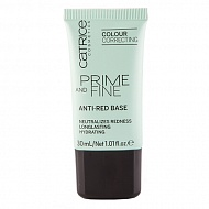 Праймер для лица `CATRICE` PRIME AND FINE Anti-Red от покраснений
